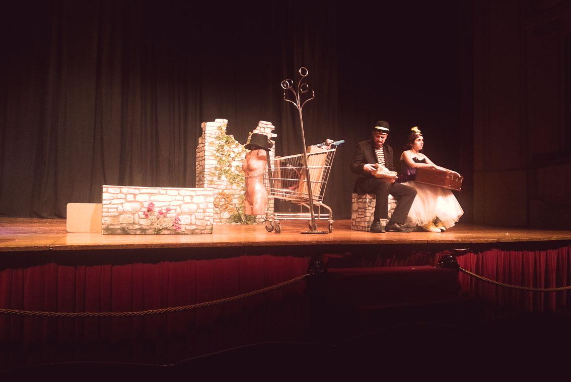 boda tipo teatro
