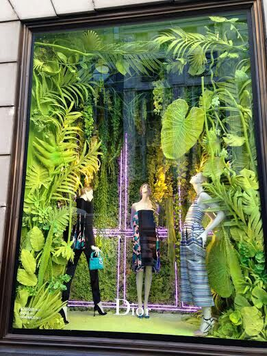 Escaparatismo conceptual Dior