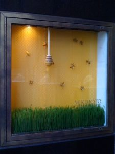 Diseño escaparate Mikimoto Pearls