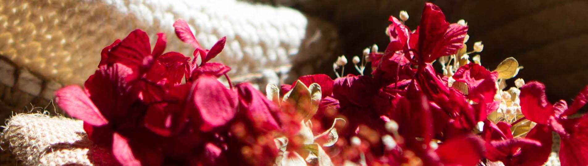la tarara detalle flores de boda
