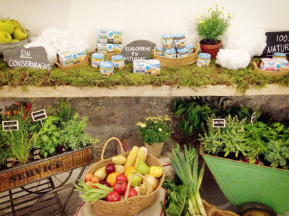 Decoración evento Naturday 2015 de Nestlé