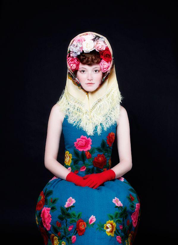 corona novia Atelier Olschinsky