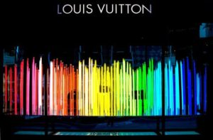 Escaparatismo conceptual Louis Vuitton